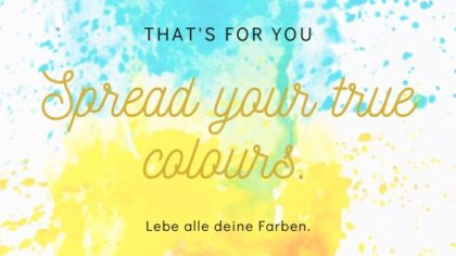 True Colours Experience | So. 08.03. | 18:00 – 21 Uhr
