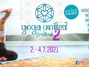 Yogafestival Yoga United | 02.07.-04.07.2021, Ticketlink 5€ sparen